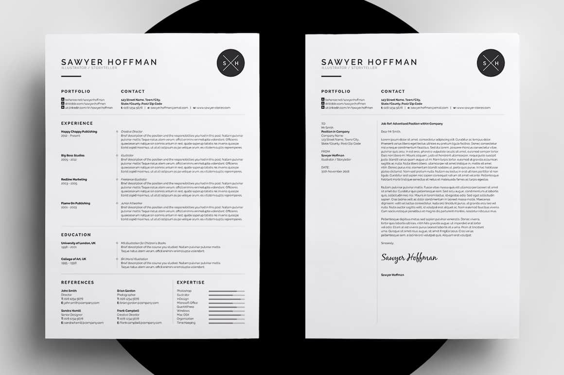 10 beautifully designed resumes for inspiration
